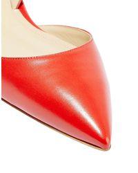 Paul Andrew Ballet Flats - Red