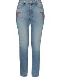 Sandrine Rose Denim Trousers - Blue