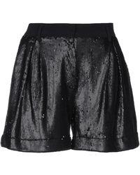 L'Autre Chose Shorts & Bermuda Shorts - Black