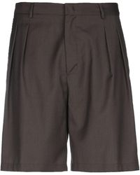 Low Brand Bermuda Shorts - Brown