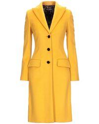 Dolce & Gabbana Coat - Yellow