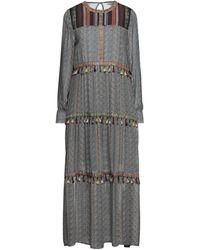 MEISÏE Midi Dress - Gray