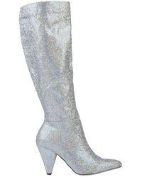 Madden Girl Boots - Metallic