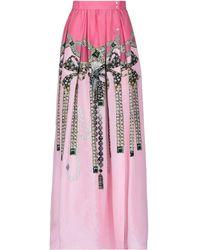 Sara Roka Long Skirt - Pink
