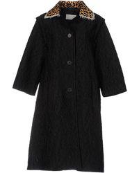 Maison Margiela Overcoat - Black