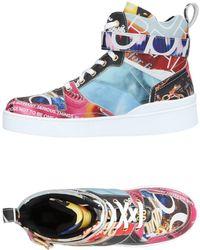Moschino High Sneakers & Tennisschuhe - Mehrfarbig
