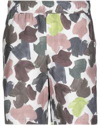 WOOD WOOD Bermuda Shorts - White