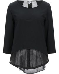 European Culture Sweatshirt - Black