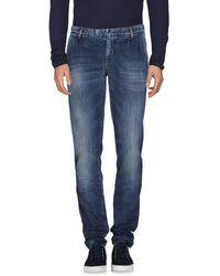 Eleventy Pantalon en jean - Bleu