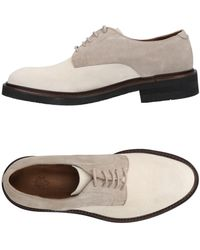 Eleventy Lace-up Shoes - White