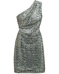 Haney Short Dress - Metallic