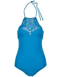 Mikoh Swimwear Badeanzug - Blau