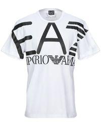 EA7 T-shirt - Blanc