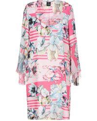 Lafty Lie Short Dress - Pink
