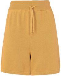 8 by YOOX Shorts & Bermuda Shorts - Yellow