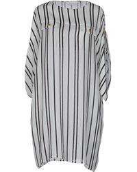 Balmain - Short Dresses - Lyst