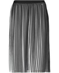 Armani Exchange Knee Length Skirt - Black