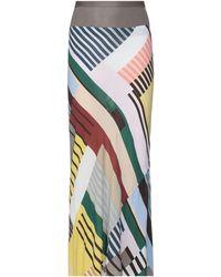 Rick Owens Lilies Long Skirt - Natural