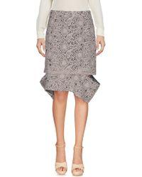 Michael van der Ham - Knee Length Skirt - Lyst