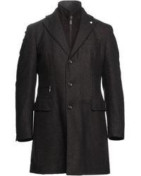 Luigi Bianchi Mantova Coat - Black
