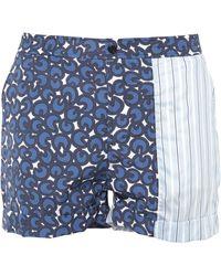 Neil Barrett Pantalons de plage - Bleu
