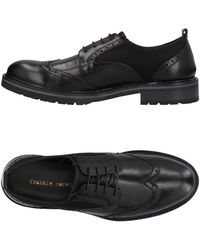 Frankie Morello Lace-up Shoes - Black
