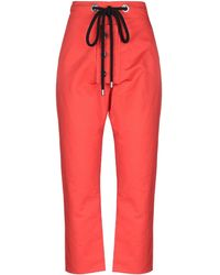 Marni Casual Trousers - Red