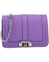 Rebecca Minkoff Handbag - Purple