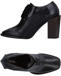 Paloma Barceló Lace-up Shoe - Black