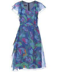 Emporio Armani Knee-length Dress - Blue