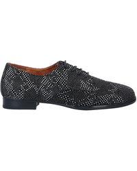 Blumarine Lace-up Shoe - Black