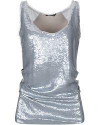 Donna Karan Top - Grey