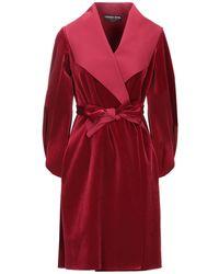 La Petite Robe Di Chiara Boni Overcoat - Red