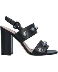 Alberto Gozzi Sandals - Black