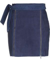 J Brand Mini-jupe - Bleu