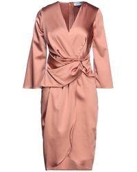 Closet Midi Dress - Pink