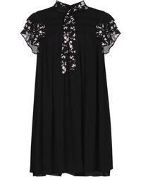 N°21 Short Dress - Black