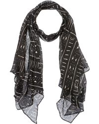 Ralph Lauren Collection Oblong Scarf - Black