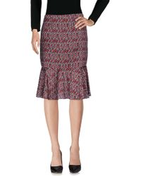Darling - Knee Length Skirt - Lyst