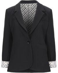Motel Suit Jacket - Black