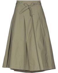 Loro Piana - 3/4 Length Skirt - Lyst