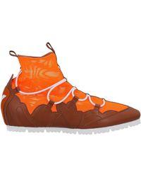Emporio Armani High-tops & Trainers - Orange