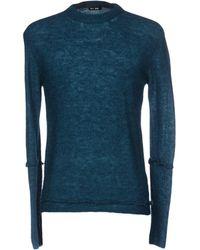 BLK DNM Pullover - Blau