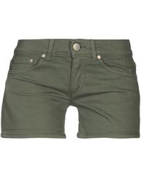 Dondup Short en jean - Vert
