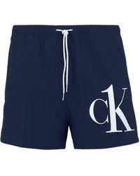 Calvin Klein Bañadore tipo bóxer - Azul