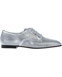 Sergio Rossi Lace-up Shoe - Metallic