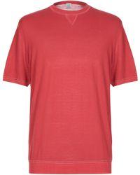 Eleventy Sweater - Red