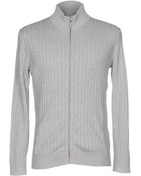Silk And Cashmere Cardigan - Gray