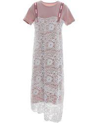 DV ROMA - 3/4 Length Dress - Lyst