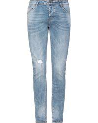 Alessandro Dell'acqua Denim Trousers - Blue